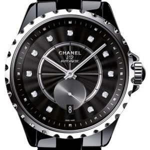 Chanel J12 H4344 Kello Musta / Keraaminen