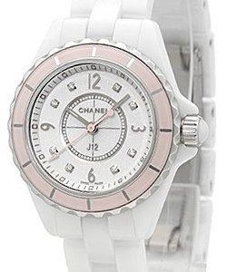 Chanel J12 H4466 Kello Valkoinen / Keraaminen