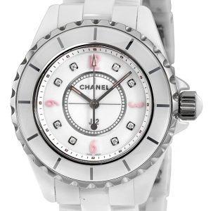 Chanel J12 H4863 Kello Valkoinen / Keraaminen