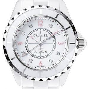 Chanel J12 H4864 Kello Valkoinen / Keraaminen