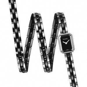 Chanel Premiere H3058 Kello Musta / Keraaminen