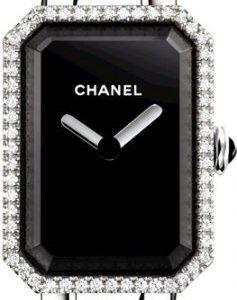 Chanel Premiere H3252 Kello Musta / Teräs