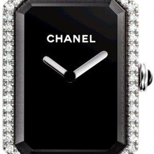 Chanel Premiere H3254 Kello Musta / Teräs