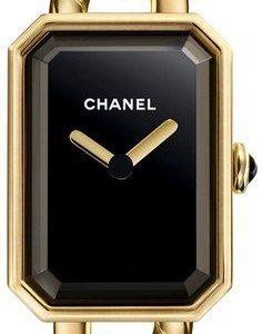 Chanel Premiere H3256 Kello Musta / 18k Keltakultaa