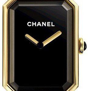 Chanel Premiere H3257 Kello Musta / 18k Keltakultaa