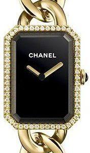 Chanel Premiere H3259 Kello Musta / 18k Keltakultaa