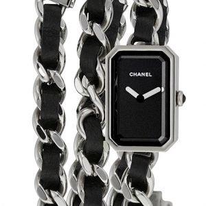 Chanel Premiere H3749 Kello Musta / Teräs
