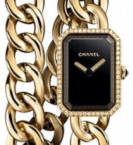 Chanel Premiere H3750 Kello Musta / 18k Keltakultaa