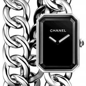 Chanel Premiere H4199 Kello Musta / Teräs
