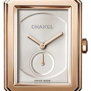 Chanel Premiere H4315 Kello Hopea / Nahka
