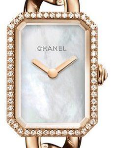 Chanel Premiere H4411 Kello Valkoinen / 18k Punakultaa