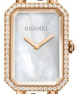 Chanel Premiere H4412 Kello Valkoinen / 18k Punakultaa