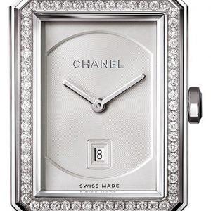 Chanel Premiere H4470 Kello Hopea / Nahka