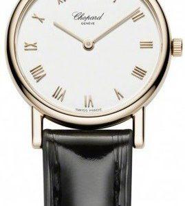 Chopard Classic 127387-5001 Kello Valkoinen / Nahka