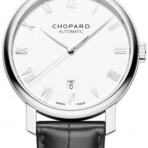 Chopard Classic 161278-1001 Kello Valkoinen / Nahka