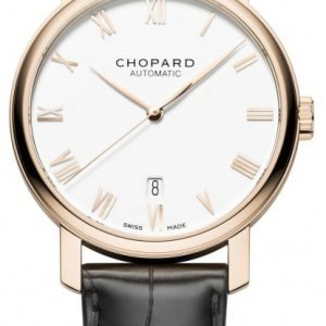 Chopard Classic 161278-5001 Kello Valkoinen / Nahka