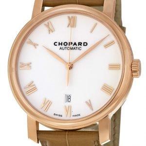 Chopard Classic 161278-5005 Kello Valkoinen / Nahka