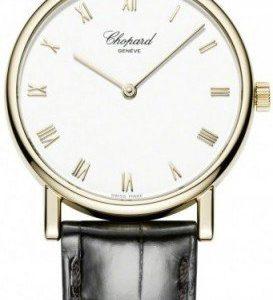 Chopard Classic 163154-0001 Kello Valkoinen / Nahka