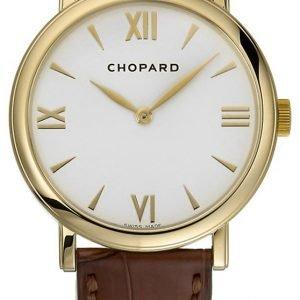 Chopard Classic 163154-0201 Kello Valkoinen / Nahka