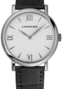 Chopard Classic 163154-1201 Kello Valkoinen / Nahka