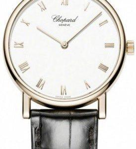 Chopard Classic 163154-5001 Kello Valkoinen / Nahka