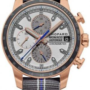 Chopard Classic Racing 161294-5001 Kello Hopea / 18k Punakultaa