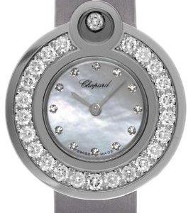 Chopard Happy Diamonds 204407-1002 Kello Valkoinen / Satiini