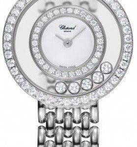 Chopard Happy Diamonds 205691-1001 Kello Valkoinen / 18k