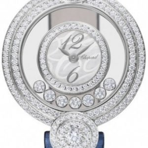 Chopard Happy Diamonds 209341-1001 Kello Tekstiili
