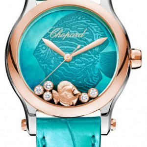 Chopard Happy Fish 36 Mm Automatic 278578-6001 Kello