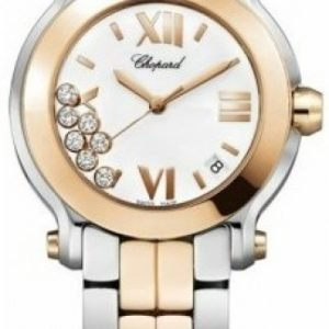 Chopard Happy Sport 278488-9002 Kello Valkoinen / Teräs