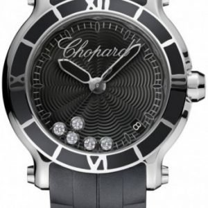 Chopard Happy Sport 278551-3002 Kello Musta / Kumi