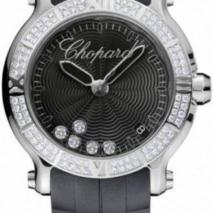 Chopard Happy Sport 278551-3004 Kello Musta / Kumi