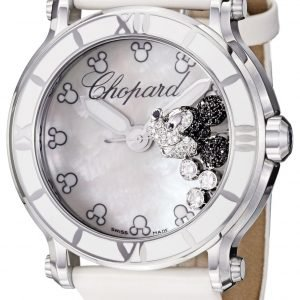 Chopard Happy Sport 288524-3004 Kello Valkoinen / Satiini