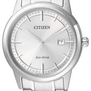 Citizen Aw1231-58a Kello Hopea / Teräs