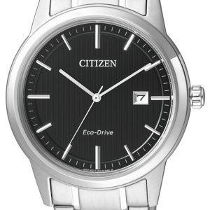 Citizen Aw1231-58e Kello Musta / Teräs