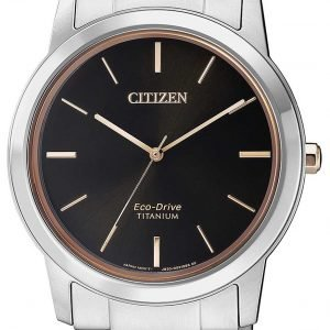 Citizen Aw2024-81e Kello Musta / Titaani