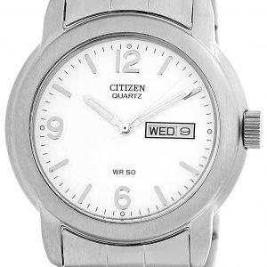 Citizen Bk3660-59a Kello Valkoinen / Teräs