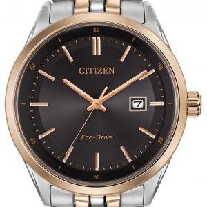 Citizen Bm7256-50e Kello Musta / Punakultasävyinen