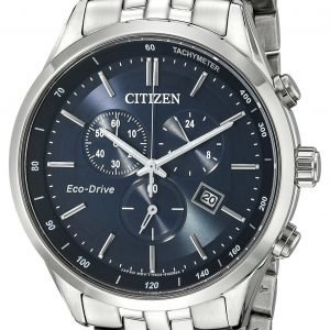 Citizen Chrono At2141-52l Kello Sininen / Teräs