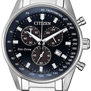 Citizen Chrono At2390-82l Kello Sininen / Teräs
