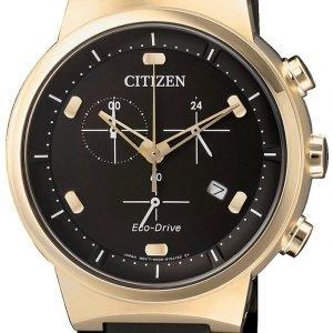 Citizen Chrono At2403-15e Kello Musta / Kumi