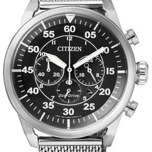 Citizen Chrono Ca4210-59e Kello Musta / Teräs