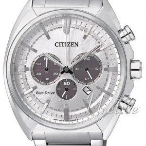 Citizen Chrono Ca4280-53a Kello Hopea / Teräs