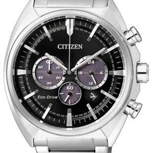 Citizen Chrono Ca4280-53e Kello Musta / Teräs