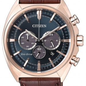 Citizen Chrono Ca4283-04l Kello Sininen / Nahka