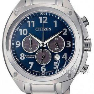 Citizen Chrono Ca4310-54l Kello Sininen / Titaani