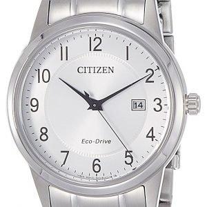 Citizen Dress Aw1231-58b Kello Hopea / Teräs