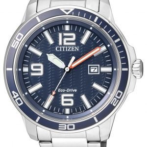 Citizen Dress Aw1520-51l Kello Sininen / Teräs