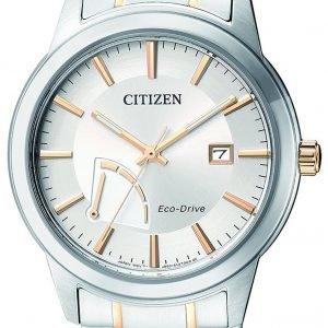Citizen Dress Aw7014-53a Kello Hopea / Kullansävytetty Teräs
